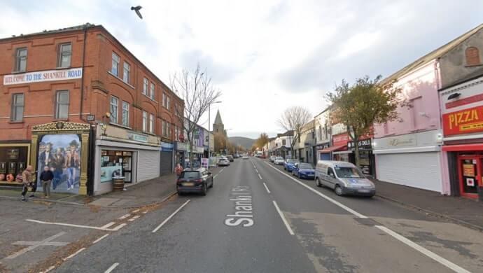 Shankill Road history
