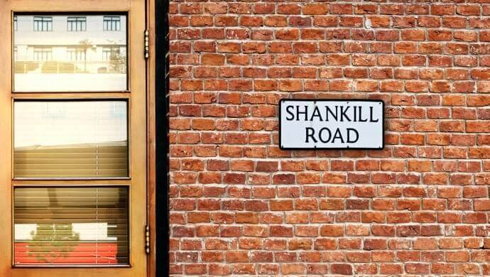 why the Shankill Road is famous