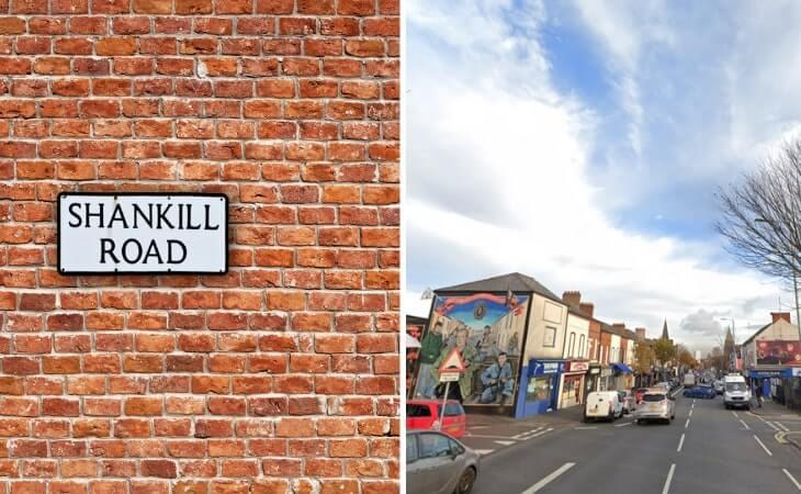 Shankill Road in Belfast