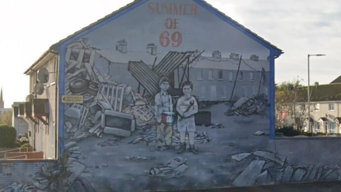 Summer of 69 mural