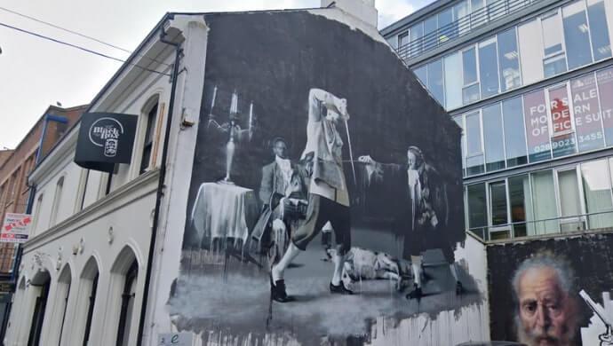 our favourite street art in belfast