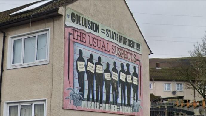 Usual Suspects mural
