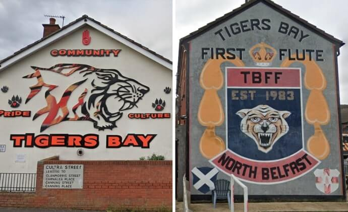 Tigers Bay murals