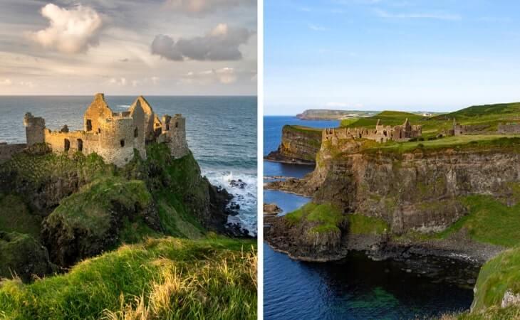 dunluce castle history