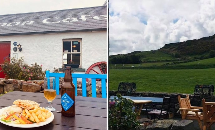 places to eat near Ballintoy Harbour