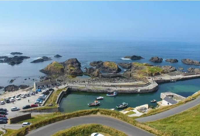 Ballintoy Harbour game of thrones link