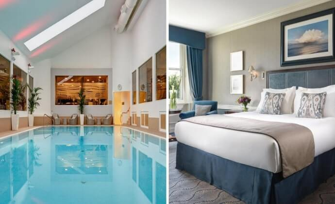 hotels with spa dublin