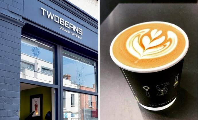 Two Beans coffee