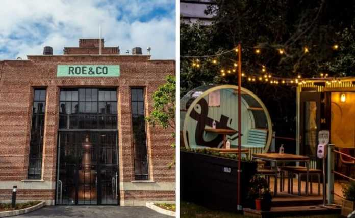 roe and co distillery