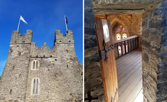 swords castle exterior
