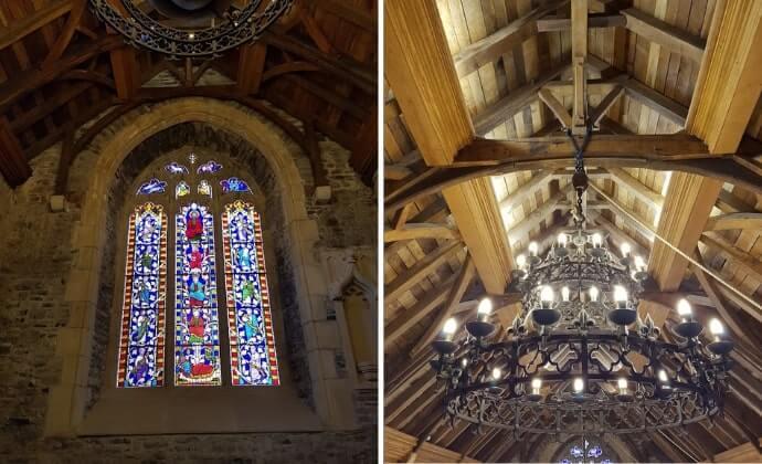 inside swords castle
